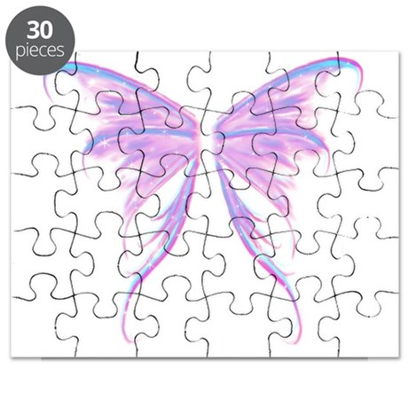multicolored wings Puzzle
