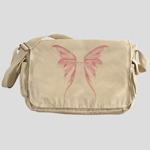 Pink wings Messenger Bag