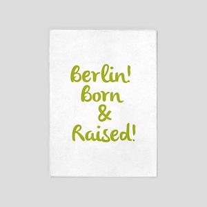 Berlin! 5'x7'Area Rug