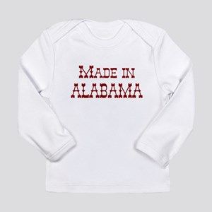 Made In Alabama Long Sleeve Infant T-Shirt