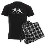 Foil Point Men's Dark Pajamas