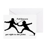 Foil Point Greeting Cards (Pk of 20)