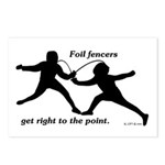 Foil Point Postcards (Package of 8)
