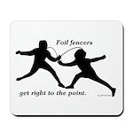 Foil Point Mousepad
