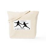 Foil Point Tote Bag