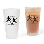 Foil Point Drinking Glass