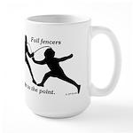 Foil Point Large Mug