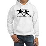 Foil Point Hooded Sweatshirt