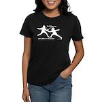 Foil Point Women's Dark T-Shirt
