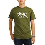 Foil Point Organic Men's T-Shirt (dark)