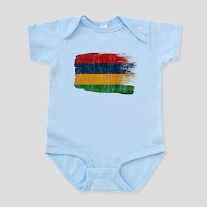 Mauritius Flag Infant Bodysuit