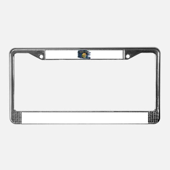 Montana Flag License Plate Frame