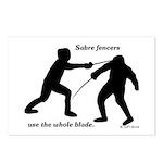 Sabre Blade Postcards (Package of 8)