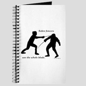 Sabre Blade Journal