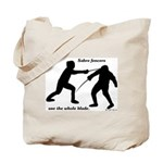 Sabre Blade Tote Bag