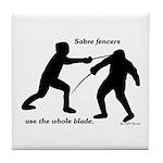 Sabre Blade Tile Coaster