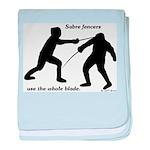 Sabre Blade baby blanket