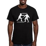 Sabre Blade Men's Fitted T-Shirt (dark)