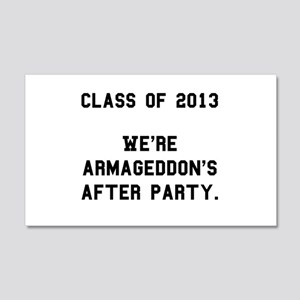 2013 Armageddon After Party Black 22x14 Wall P