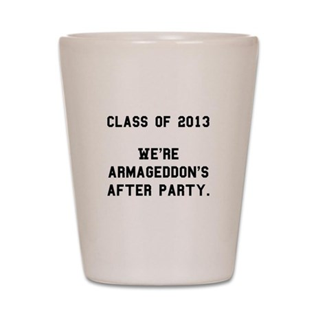 2013 Armageddon After Party Black Shot Glass