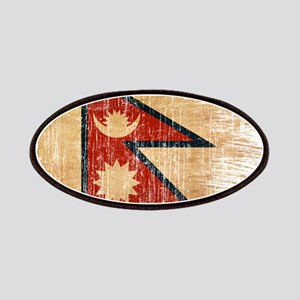 Nepal Flag Patches