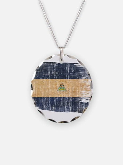 Nicaragua Flag Necklace