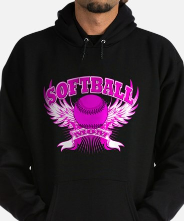 Softball mom Hoodie (dark)