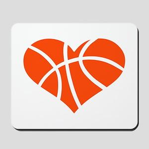 Basketball heart Mousepad