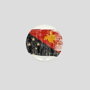 Papua new Guinea Flag Mini Button