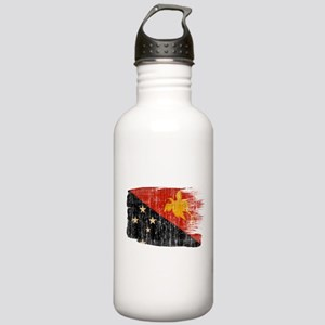 Papua new Guinea Flag Stainless Water Bottle 1.0L