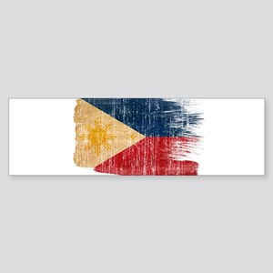 Philippines Flag Sticker (Bumper)