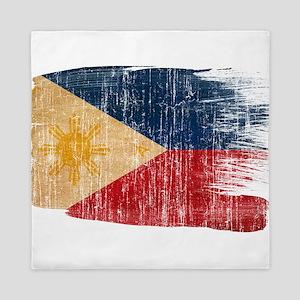 Philippines Flag Queen Duvet