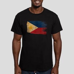 Philippines Flag Men's Fitted T-Shirt (dark)