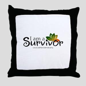 - I'm a survivor - Throw Pillow