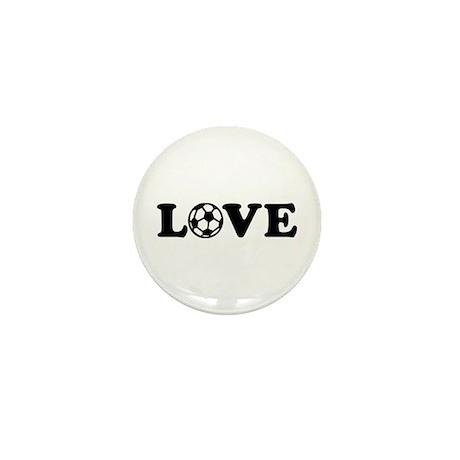 Soccer love Mini Button (100 pack)
