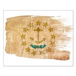 Rhode Island Flag Small Poster