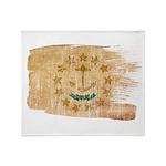 Rhode Island Flag Throw Blanket