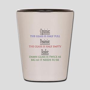 optimist Shot Glass