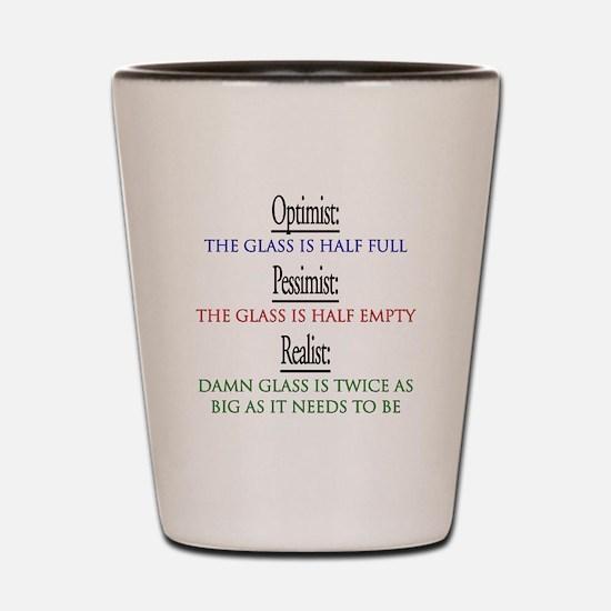 optimist.png Shot Glass