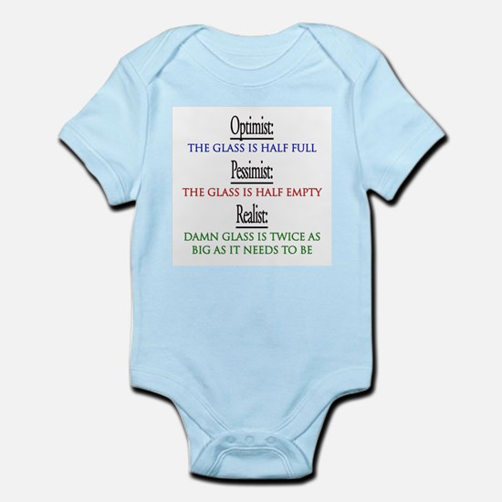 optimist.png Infant Bodysuit