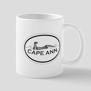 Cape Ann - Oval Design. Mug
