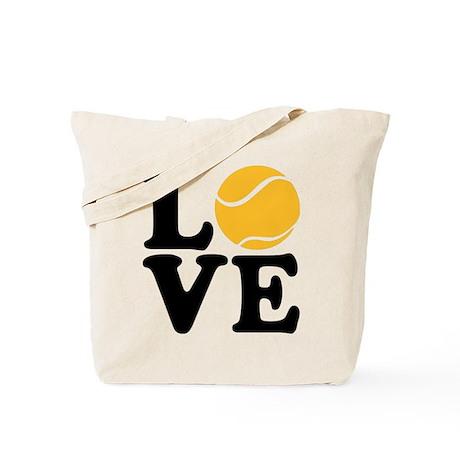 Tennis love Tote Bag
