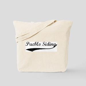 Pueblo Siding - Vintage Tote Bag