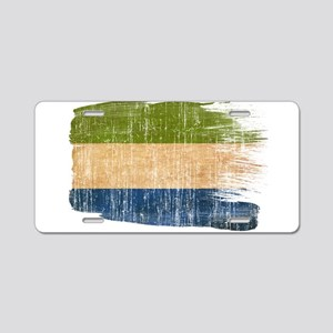Sierra Leone Flag Aluminum License Plate