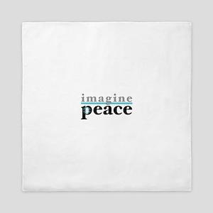 Imagine Peace Queen Duvet