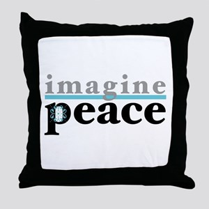 Imagine Peace Throw Pillow