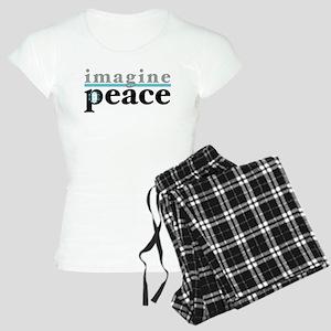 Imagine Peace Women's Light Pajamas