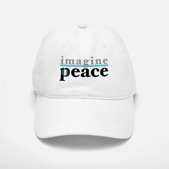 Imagine Peace Baseball Baseball Cap