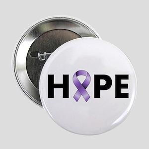 "Purple Ribbon Hope 2.25"" Button"