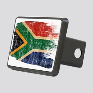 South Africa Flag Rectangular Hitch Cover